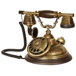 Oval Eskitme El Dekorlu Telefon