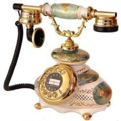 Porselen İtalyan Telefon