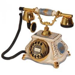 Porselen Meltem Azur Telefon