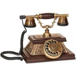 Yalı Ahşap Eskitme Telefon