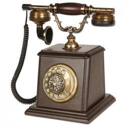 Büyük Kale Ceviz Ahşap Telefon