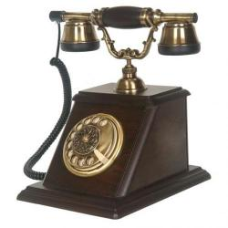 Kale Ceviz Ahşap Telefon