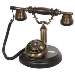 Oval Ahşap Telefon