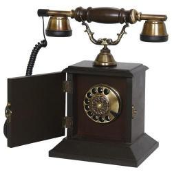 Kapaklı Konak Ahşap Telefon