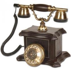Derili Konak Ahşap Telefon