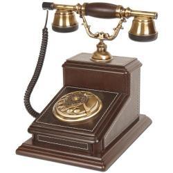 Derili Büyük Büro Ahşap Telefon