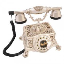 Şato Gümüş Varaklı Swarovski Taşlı Telefon