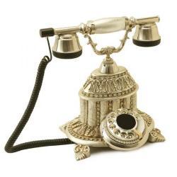 Hisar Saray Gümüş Varaklı Swarovski Taşlı Telefon