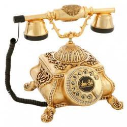 Osmanlı Varaklı Swarovski Taşlı Telefon