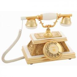 Yalı Varaklı Avg Ahşap Telefon
