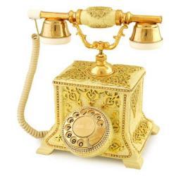 Konak Antik Çatlak Şampanya Telefon