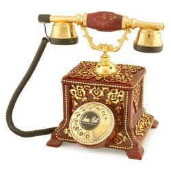Konak Antik Bordo Telefon