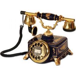 Şato Kobalt Antika Telefon