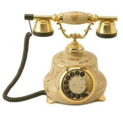 Porselen Tombul Klasik Telefon