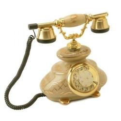 Porselen İtalyan Şampanya Klasik Telefon