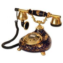 Porselen Damla Kobalt Telefon