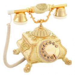 Osmanlı Çatlak Şampanya Varaklı Telefon