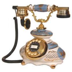 Porselen Gökmavisi Telefon