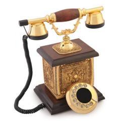 Saray Konak Altın Varaklı Telefon