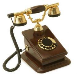 Büro C Ahşap Telefon
