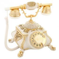 Osmanlı Kemik Varaklı Swarovski Taşlı Telefon