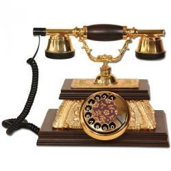 Yalı Ahşap Varaklı Telefon