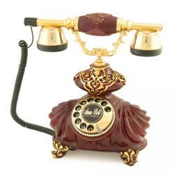 İtalyan Burmalı Bordo Varaklı Telefon