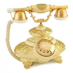 İtalyan Tombul Şampanya Varaklı Telefon