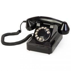 Anna Bell Klasik Siyah Telefon