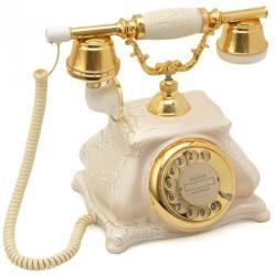 Çatlak Beyaz Meltem Klasik Telefon