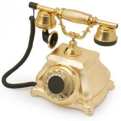 Meltem Altın Varaklı Klasik Telefon