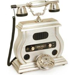 Radyolu Gümüş Varaklı Telefon