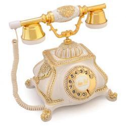 Meltem Beyaz Varaklı Telefon