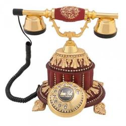 Hisar Saray Varaklı Bordo Telefon