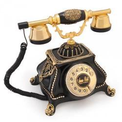 Meltem Siyah Varaklı Telefon