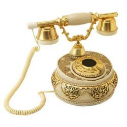 Villa Kemik Varaklı Swarovski Taşlı Telefon