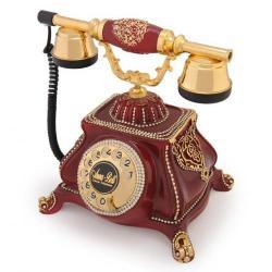 Meltem Bordo Varaklı Swarovski Taşlı Telefon