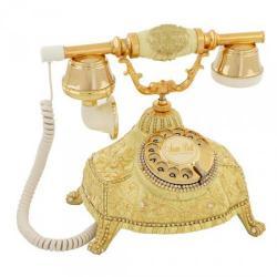 Ufo Şampanya Varaklı Swarovski Taşlı Telefon