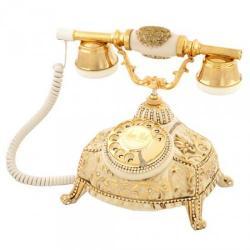 Ufo Kemik Varaklı Swarovski Taşlı Telefon