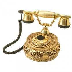 Villa Altın Varaklı Swarovski Taşlı Telefon
