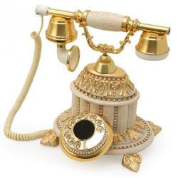 Hisar Saray Şampanya Swarovski Taşlı Telefon