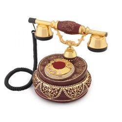 Villa Bordo Swarovski Taşlı Telefon