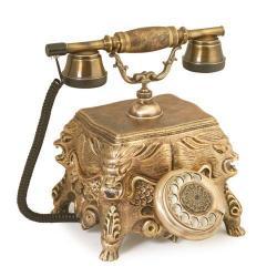 Eskitme Aslanlı Telefon