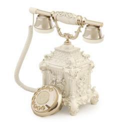 Dolmabahçe Beyaz Gümüş Telelefon