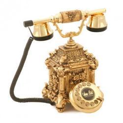 Dolmabahçe Altın Varaklı Telelefon