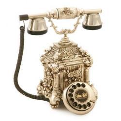 Dolmabahçe Gümüş Varaklı Telelefon