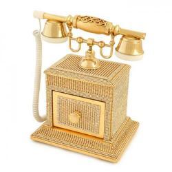 Swarovski Taşlı Kapaklı Konak Telefon