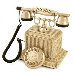 Swarovski Taşlı Şato Gümüş Telefon