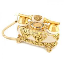 İtalyan Yatık Varaklı Kemik Telefon