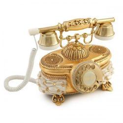 Venüs Mercan Altın Varaklı Telefon